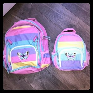 Pottery Barn backpack set